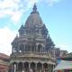 A medieval stone temple in Kathmandu