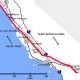 San Andreas Fault Map