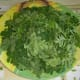 Moringa leaves ready to be use for cooking soup.