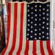 1908 46 stars wool flat 1908-1912 Oklahoma - flag  of the United States of America