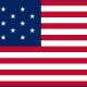 15 Star US Flag Star Spangled Banner 3x5 ft United States USA American 1795–1818