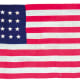 24 star American flag from 1820 found on eBay