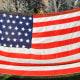45 star flat utah tassels flag of the United States of America