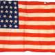 39 star North Dakota flag  of the United States of America 1889 silk