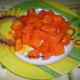 Ripe Papaya Chunks