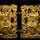 Men in armor, in Greek fighting gear. Tomb III.