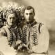 A photo from a pre-Communist time Ukrainian wedding in the country's Carpathian Mountains region