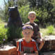 We visited the Santa Fe Botanical Gardens, which were small but enjoyable, particularly because of the various animal sculptures throughout the gardens.