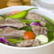 A delicious bowl of Sinigang