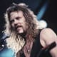 James Hetfield, about 30 years old.