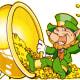 A Leprechaun and his pot of gold