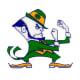 The Notre Dame Fighting Irish mascot