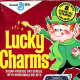 A really old Lucky Charms box (notice the Star Wars toy)