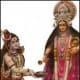 Goddess Annapurna and Lord Shiva