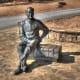 Franklin Delano Roosevelt near Warm Springs.
