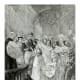 The Marriage of Queen Victoria to Prince Albert at the royal chapel in St. James, London, England on February 11, 1840