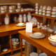 Maison de porcelain Limoges porcelain factory shop, Aix-sur-Vienne, Limousin