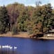 Lake at Burdette Park from vanderburghgov.org