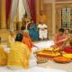 Viren and Nivedita during Maha Puja