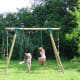 We also have swings in the play area shared with the gite and B & B