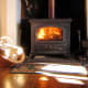 Cosy winter days around the stove in the B & B