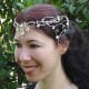 Fabulous hand crafted headdress, suitable for a royal elfin maiden.