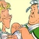 Laurel and Hardy - as legionnaires in Obelix & Co.