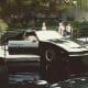 KITT at Universal Studios in 1985.