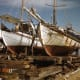 Greek sponge boats in Tarpon Springs