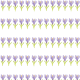 Flower scrapbook paper: Rows of small purple crocus images on a white background