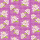 Medium delicate purple flower art scrapbook paper on orchid background with shadow images