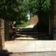 Steps near the front entrance. Skateboarders always used to hang around here years ago.