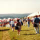 Tented area for Olympic Dressage 1992