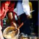 vendor preparing bhel puri
