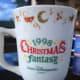 Tokyo Disneyland Christmas Mug in 1998