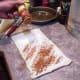 Step Five: Finally sprinkle cinnamon liberally across the top of your cinnamon