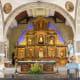 Interior of the St. Peter of Verona Church in Hermosa, Bataan