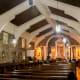 Interior of St. Dominic Parish in Abucay, Bataan