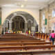 Interior of Our Lady of Pillar Church in Pilar, Bataan