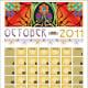 A sample calendar