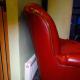 New half height radiator behind the sofa