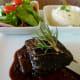 6 ounce 12-hour beef short rib