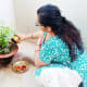 Worshipping Shami Plant
