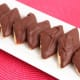 These chocolate diamonds are also Mostaccioli Cookies.