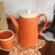 Hull Tangerine Mug - Rare Color