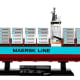 Maersk Line Triple-E  (10241)  Released 2014.  1,518 pieces!