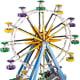Ferris Wheel (10247)  Released 2015.  2,464 pieces!