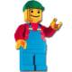 Lego Minifigure Sculpture (3723) Released 2000. 1,850 pieces!
