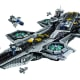 SHIELD Helicarrier (76042)  Released 2015.  2,996 pieces!