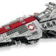 Venator-class Republic Attack Cruiser (8039) Released 2009. 1,147 pieces!